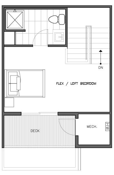 Fourth Floor Plan of the Nidaros Layout at The Trondheim