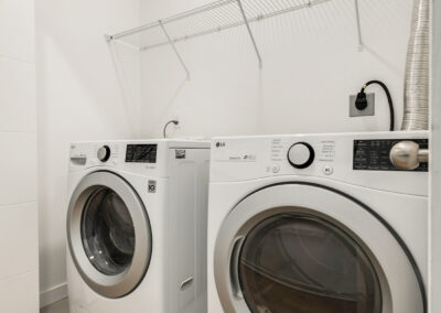 Laundry Area at 1459 NW 87th St, One of The Trondheim Townhomes