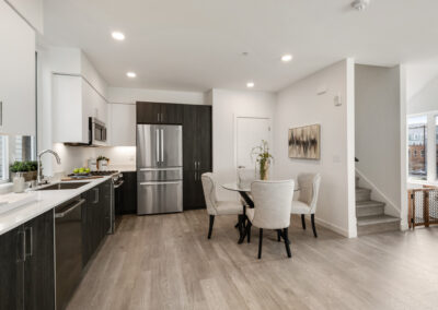Kitchen and Dining Area at 8573 Mary Ave NW