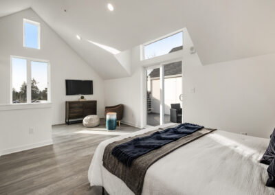 Vaulted Ceilings in the Third Floor Bonus Room at 8573 Mary Ave NW