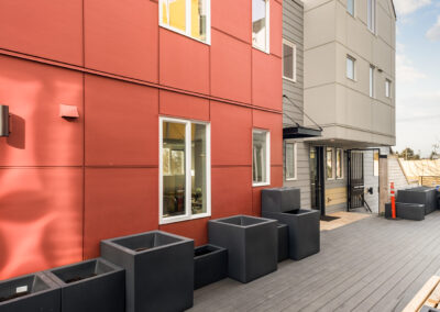 Common Area Between the Buildings at The Trondheim