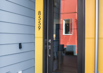 Front Door at 8559 Mary Ave NW at The Trondheim