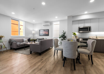 Dining Area and Living Room at 8559 Mary Ave NW