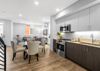 Kitchen and Dining Area at 8559 Mary Ave NW