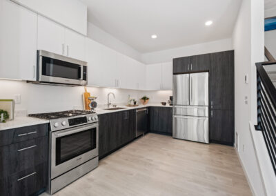 Kitchen at 8569 Mary Ave NW at The Trondheim