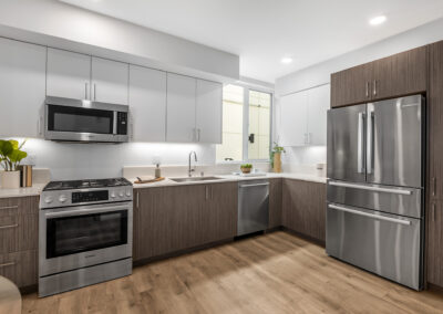 Kitchen at 8559 Mary Ave NW in The Trondheim
