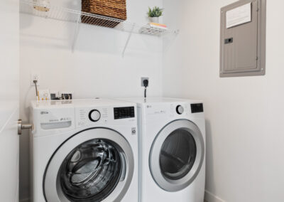 Laundry Room at 8569 Mary Ave NW at The Trondheim
