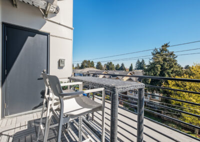 Fourth-Floor Deck at 8569 Mary Ave NW in the The Trondheim